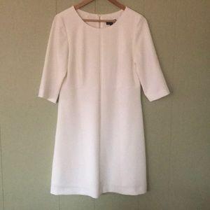TAHARI Arthur S. Levine White Sheath Dress